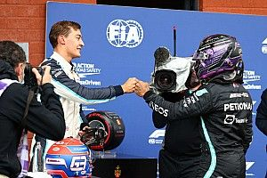 """Hamilton: """"Russell? In Mercedes grazie al duro lavoro"""""""
