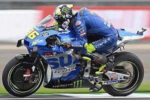 Suzuki n'a pas utilisé le holeshot device à Silverstone