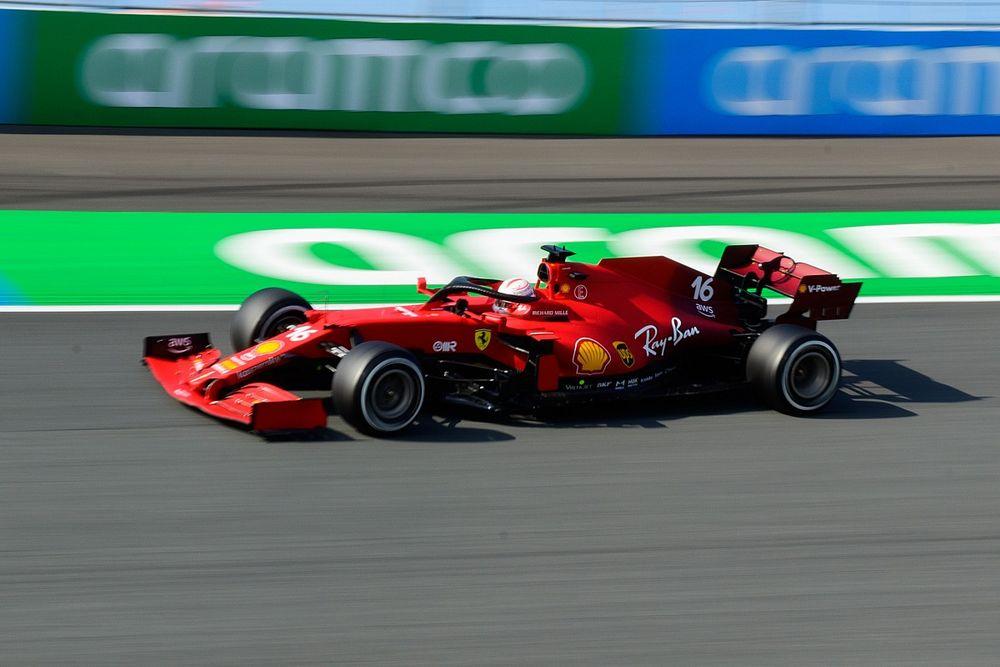 """Leclerc: """"Sorpresi dalla durata delle medie di Gasly"""""""