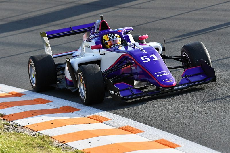 Сидоркова осталась без очков на этапе W Series в Зандфорте