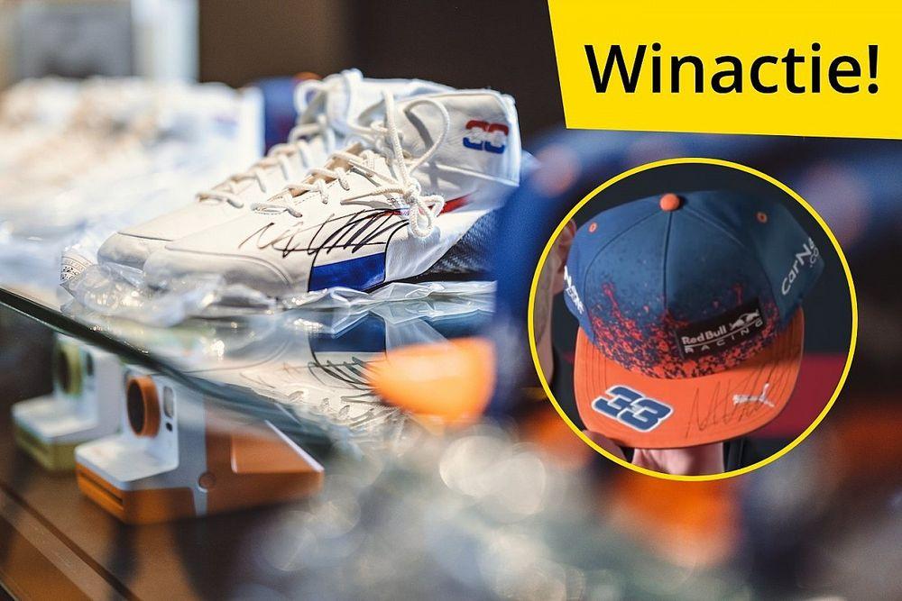 Win Max Verstappen collector's items