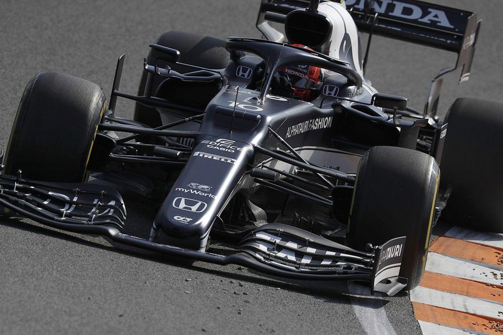 F1オランダFP2速報:2度の赤旗中断もトップはフェラーリのルクレール、角田は13番手