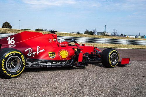Ferrari, Fiorano'da çekim günü düzenledi