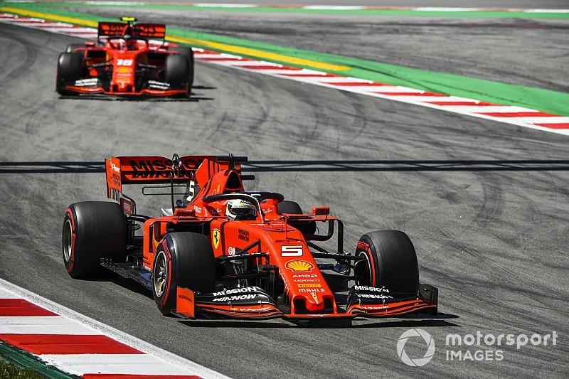 Niewystarczające poprawki Ferrari