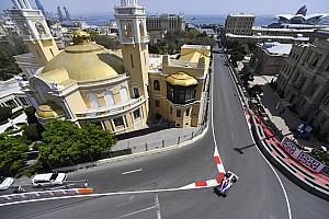 F1アゼルバイジャンGPのFP2、予定通りのスケジュールで実施