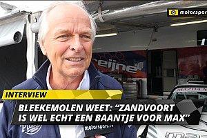"""Bleekemolen: """"Zandvoort is echt een baantje voor Max"""""""