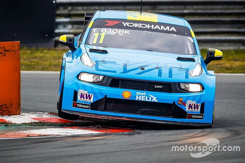 Zandvoort WTCR: Bjork wins after late-race team order