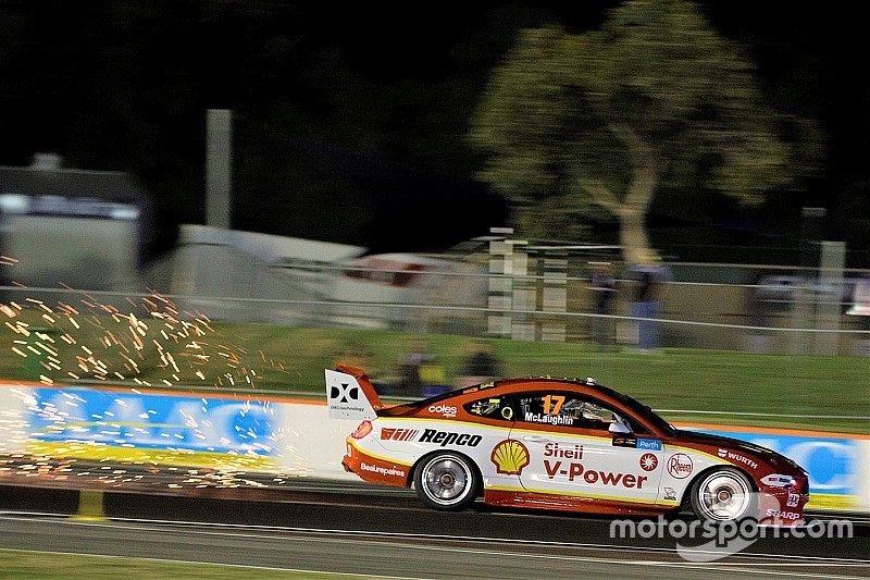 "Supercars drivers react to ""nuts"" Perth track conditions"