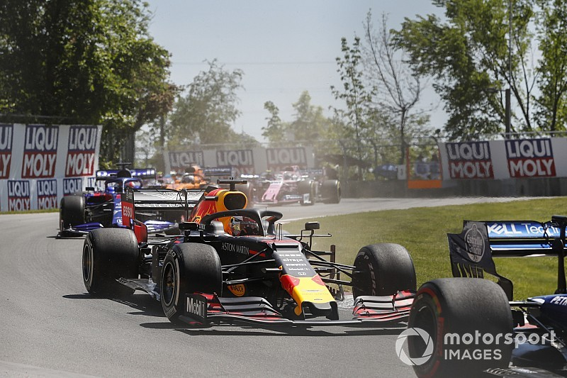 Verstappen cuestiona la lógica de las penalizaciones en carrera