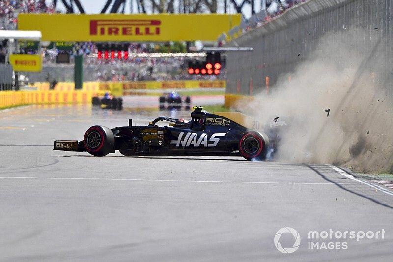 Magnussen start GP Canada vanuit de pitstraat