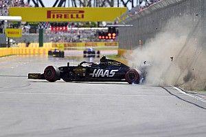 VÍDEO: Batida forte de Magnussen interrompe treino de classificação do GP do Canadá