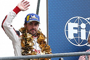 "Alonso says #8 Toyota has to ""enjoy"" stroke of luck"