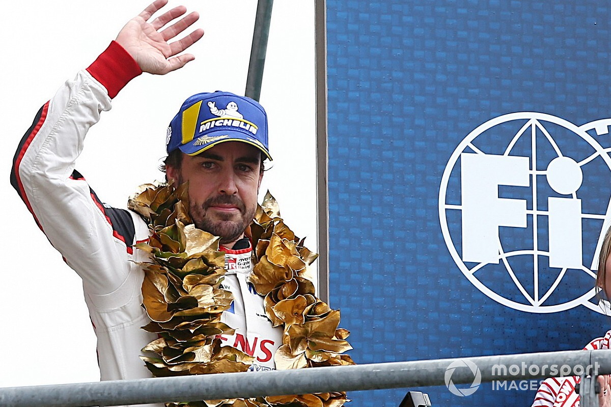 "Alonso says #8 Toyota crew has to ""enjoy"" luck"