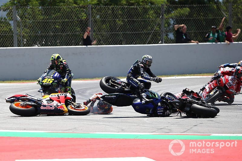 "Rossi : Le virage 10 ? ""Comme un parking de supermarché"""