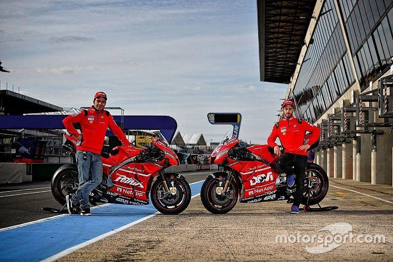La decoración especial de las Ducati en Francia