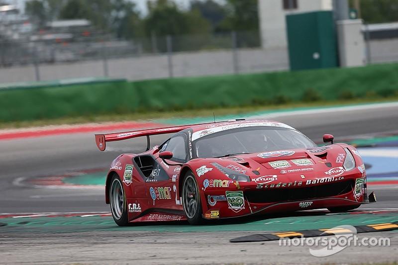Misano, Libere 2: Fisichella, Gai e Villeneuve in vetta con la Ferrari della Scuderia Baldini