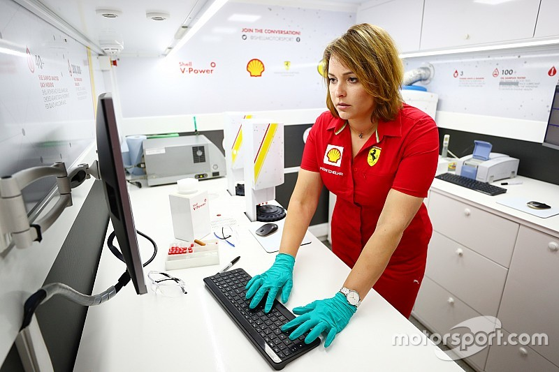 Promoted: Women in Motorsport - Shell Track Lab F1 Coordinator Kathrin Danihelka