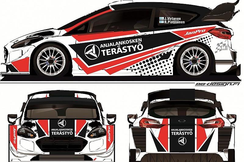 Virtanen w Fieście WRC