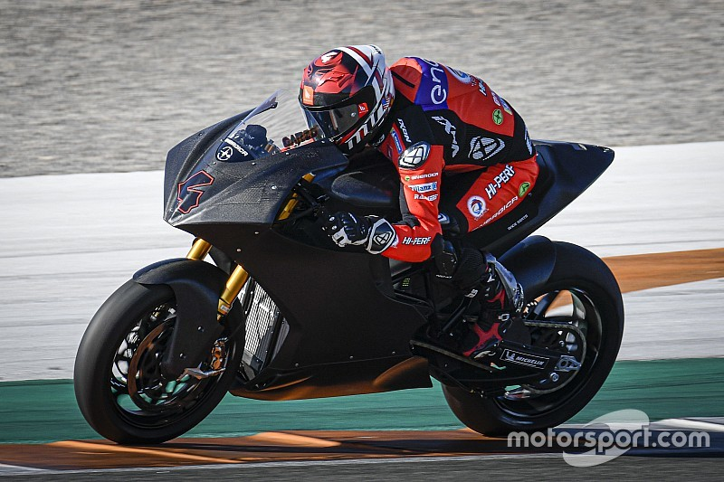 Garzo tops MotoE qualifying simulation in Valencia test