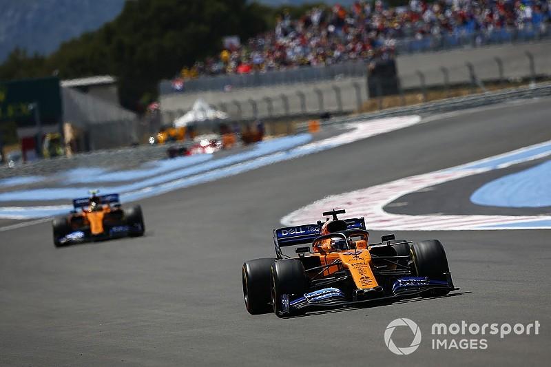A McLaren öt évet várt a francia időmérős sikerre