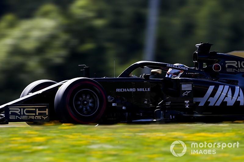 Grosjean: Haas, Avusturya'da mücadeleye geri döndü