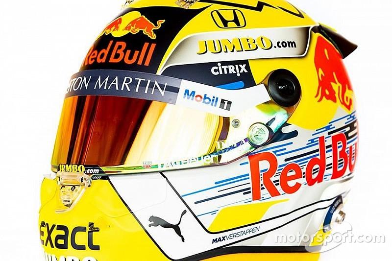 Ecco il casco celebrativo di Max Verstappen per il GP d'Austria