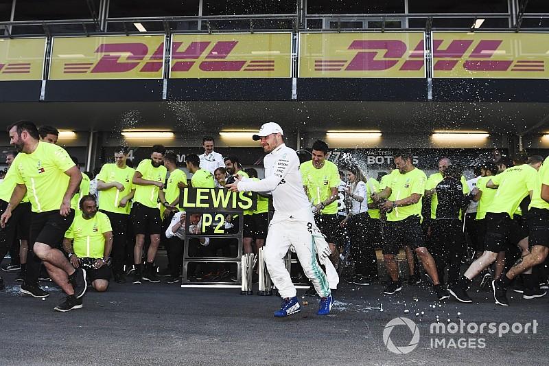"""Bottas: """"Hamilton me puso bajo presión; estoy contento por el triunfo"""""""