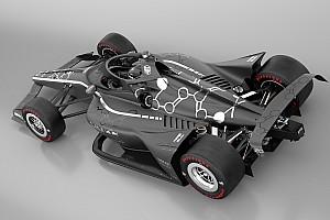来季からインディカーに導入予定のエアロスクリーン、シーズン終了直後からテスト