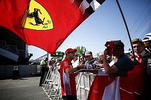"""Vettel: """"Yo estoy contento con Ferrari y espero que ellos también"""""""