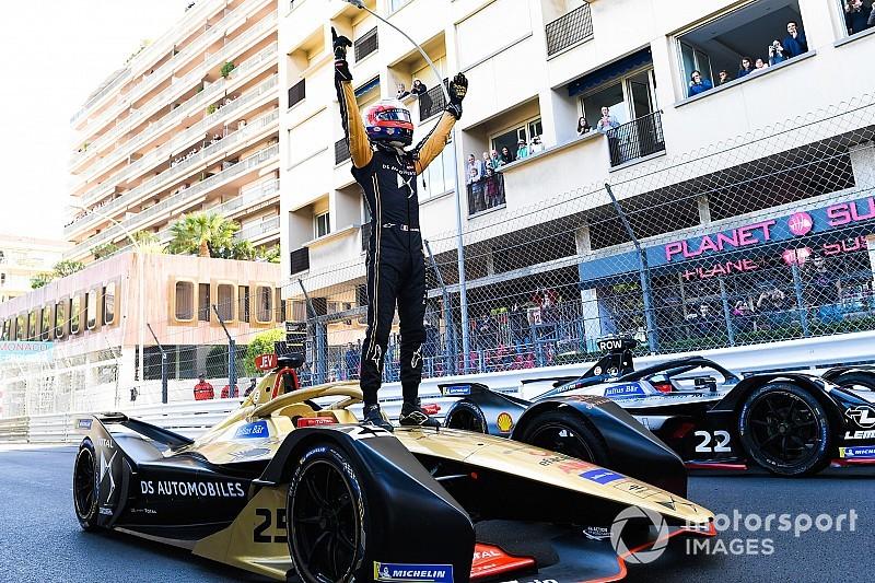 Vergne triumfuje w Monako