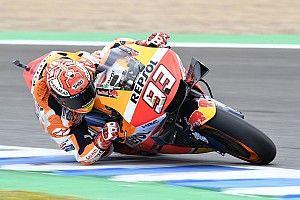 La Honda vuelve a fallar; Márquez, no