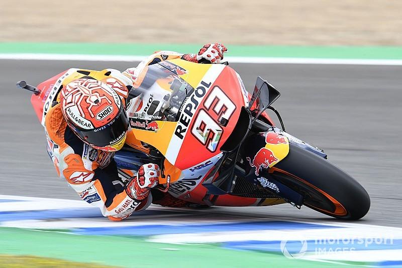MotoGPスペイン決勝:マルケス独走優勝。新星クアルタラロはトラブルに泣く