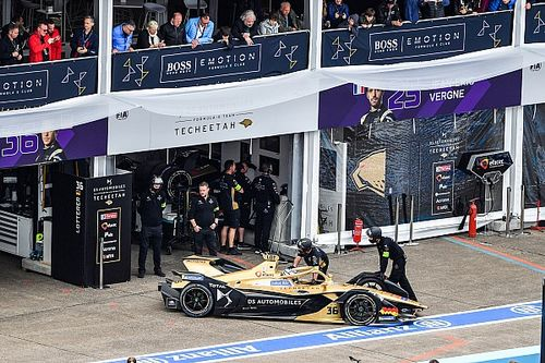 Problem discovered behind Lotterer's battery overheat DNF