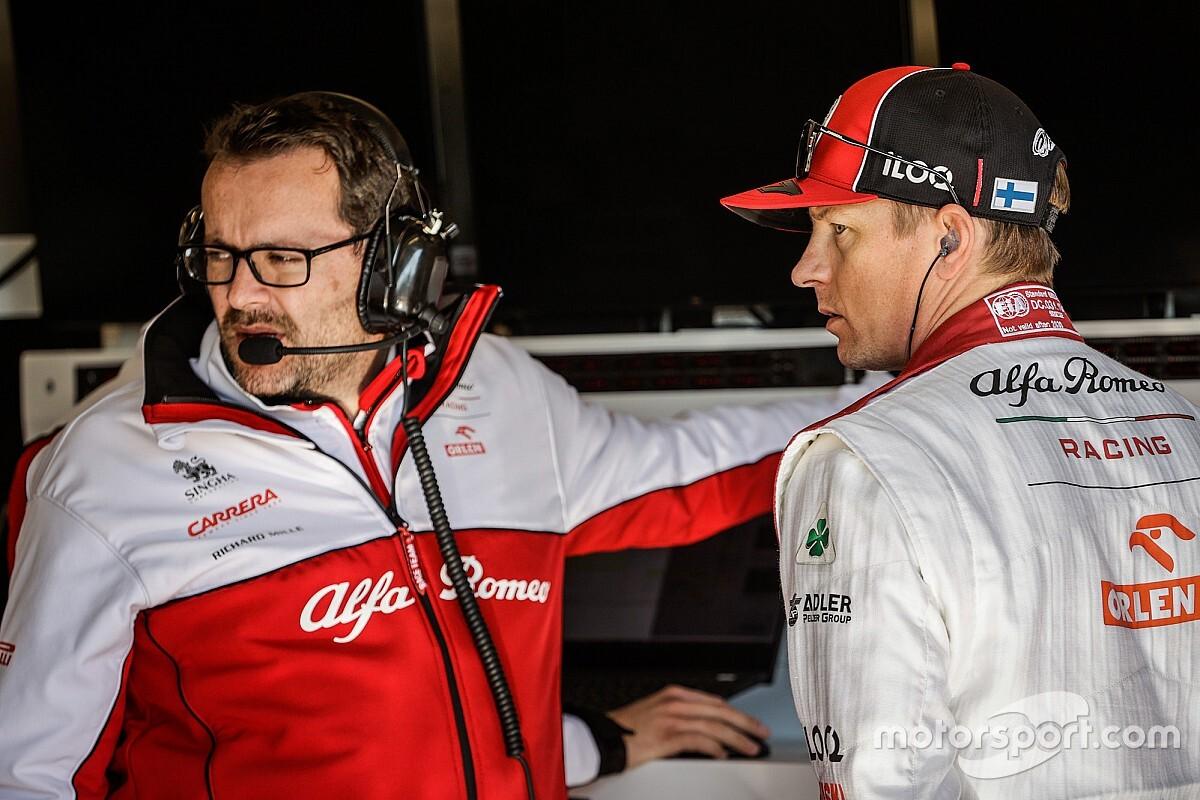 Il mio lavoro in F1: ingegnere di Kimi Raikkonen in Alfa Romeo