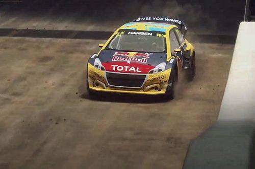 Leclerc felemásan debütált, Van Gisbergen nyerte a World RX Esports nyitányát