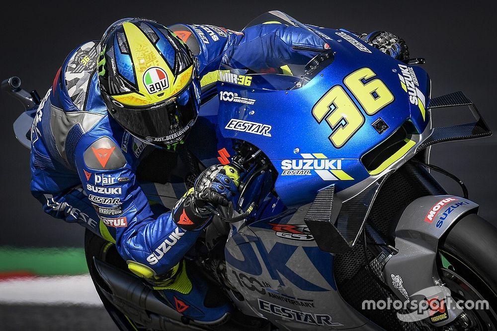MotoGP, Stiria, Libere 3: Suzuki al top con Mir, Rossi in Q1