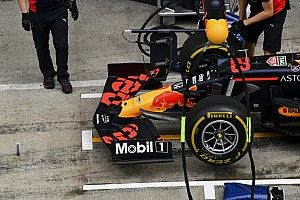 Элбон не получит новое антикрыло Red Bull. Его сломал Ферстаппен