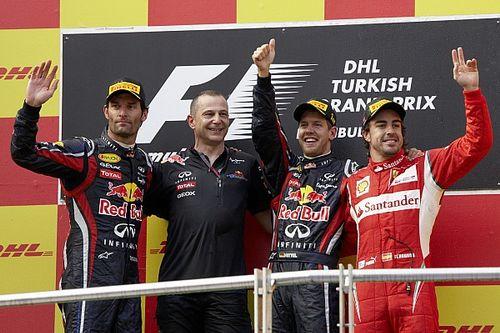 Cara Unik Horner Damaikan Vettel dan Webber