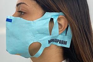Dalla F1 arrivano le mascherine idrorepellenti Nanoprom
