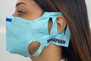 Le mascherine Nanoprom promosse dall'ISS