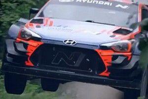 WRC: Hyundai prova aggiornamenti in stile... Citroen!