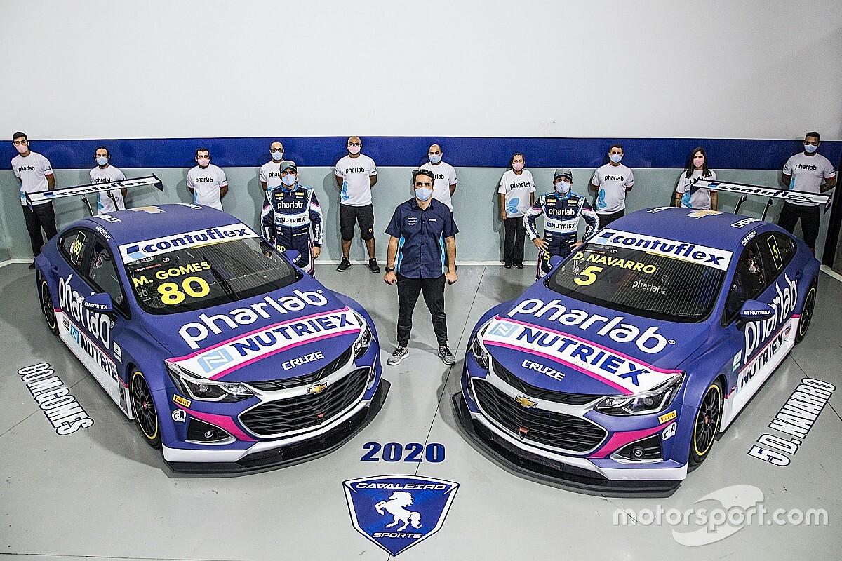 Cavaleiro Sports apresenta novos carros para a Stock Car 2020