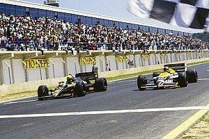 """Le jour où Senna gagna avec 0""""01 d'avance !"""