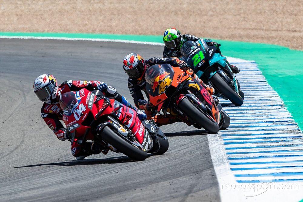 """Espargaró: """"La KTM es más rápida que la Ducati en todo menos la recta"""""""