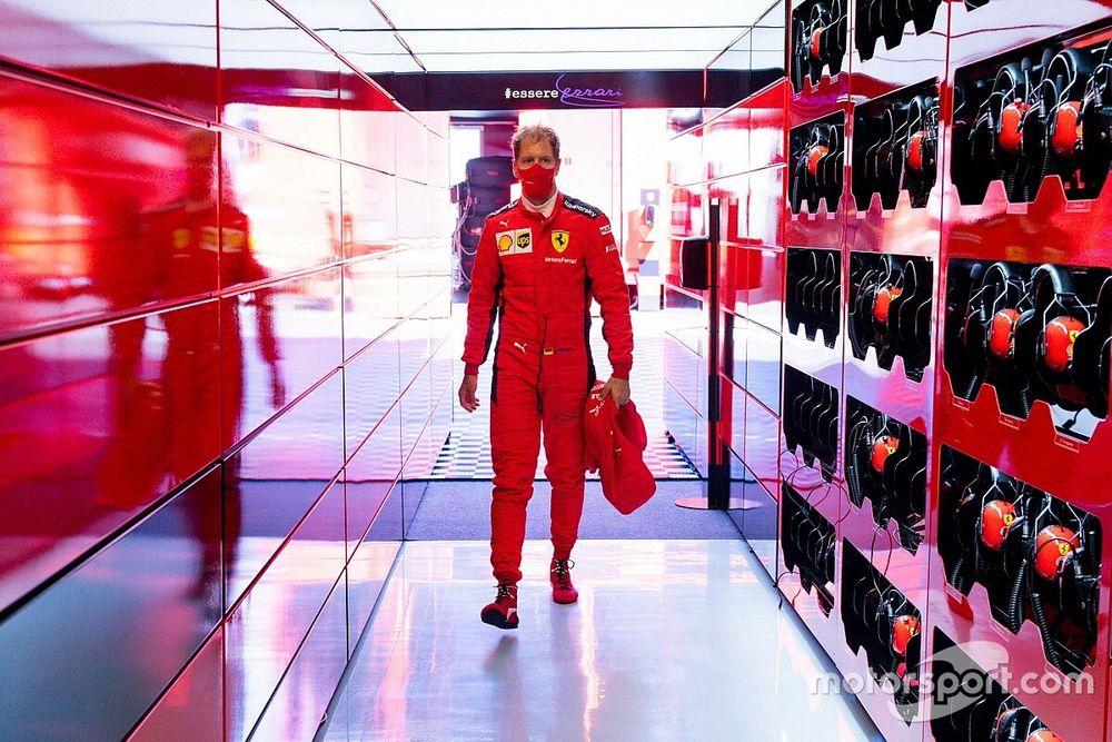 Vettel ne compte pas quitter Ferrari en cours de saison