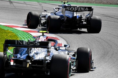 Williams to use more Mercedes F1 parts from 2022