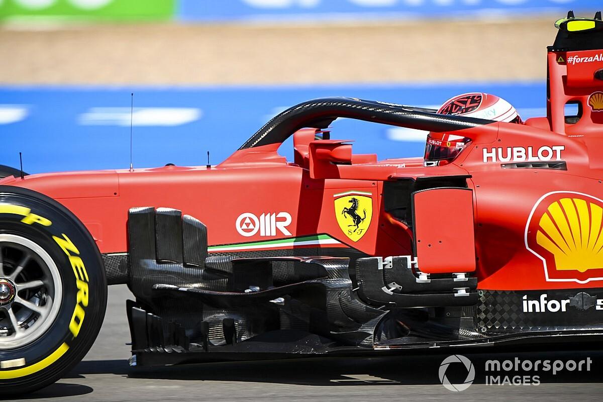 Ferrari eksperymentowało