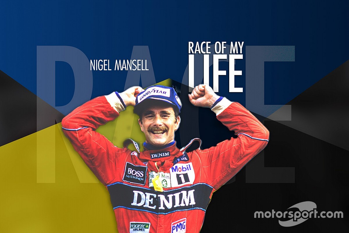 Race of my Life: Mansell on the 1986 British GP