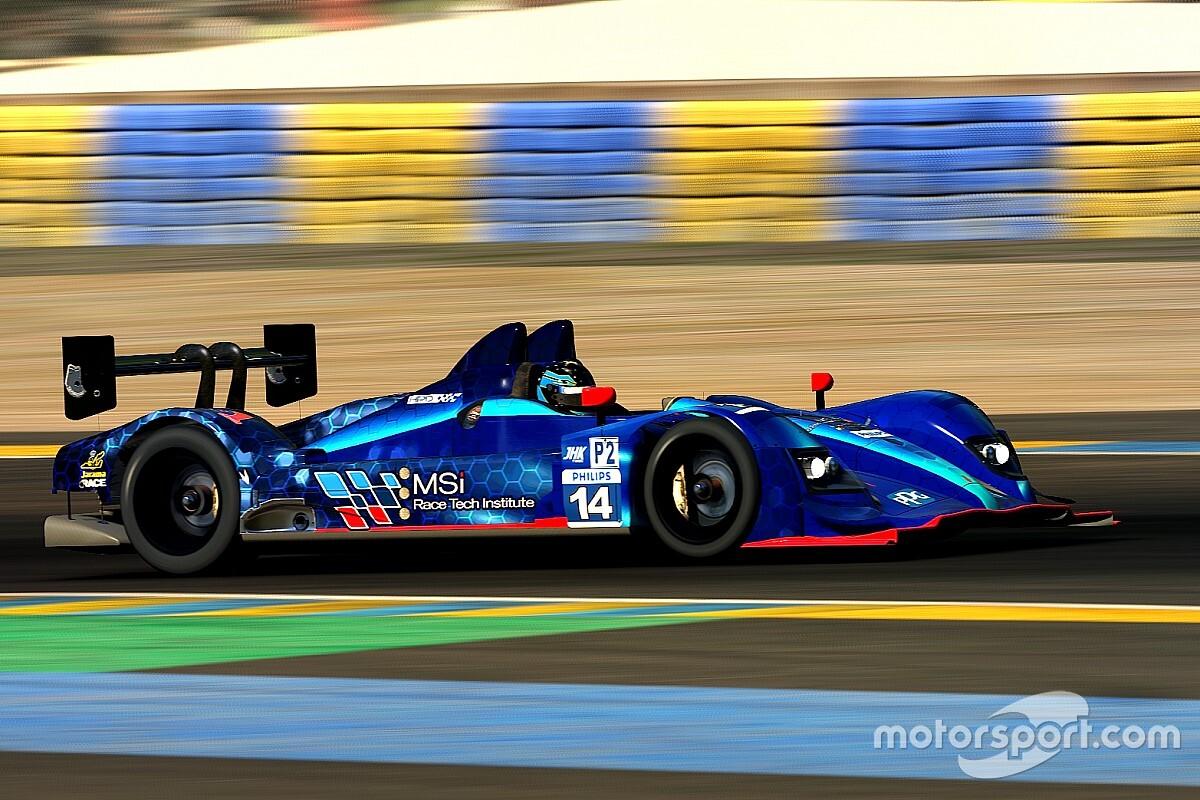 MSi se sube al podio de las 24h de Le Mans de iRacing