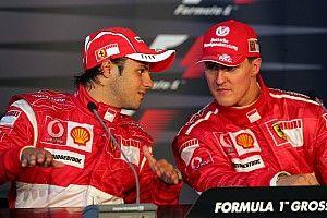 Massa : Schumacher plus travailleur, Hamilton plus talentueux